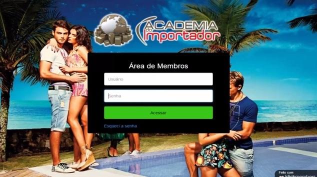 academia do importador area de membros